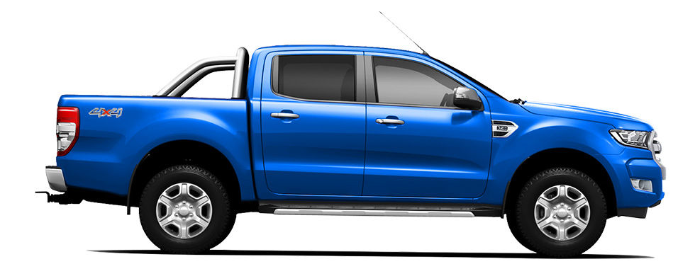 Ford Ranger Winning Blue