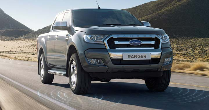 Ford Ranger Lane Keeping System