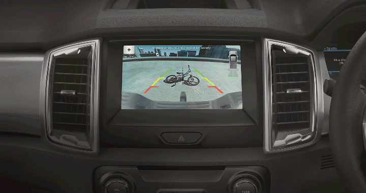 Ford Ranger Rear View Camera and Sensors