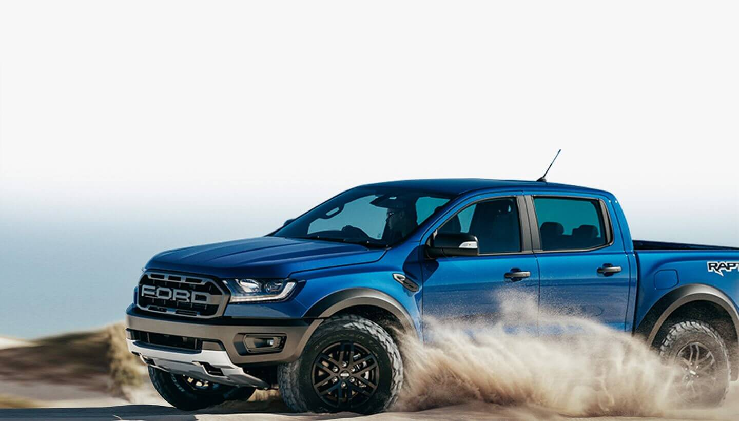 Ford Ranger Raptor Terrain Management System