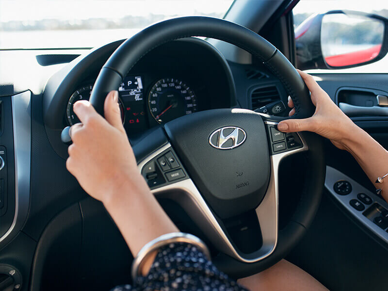 Premium steering wheel and with cruise control
