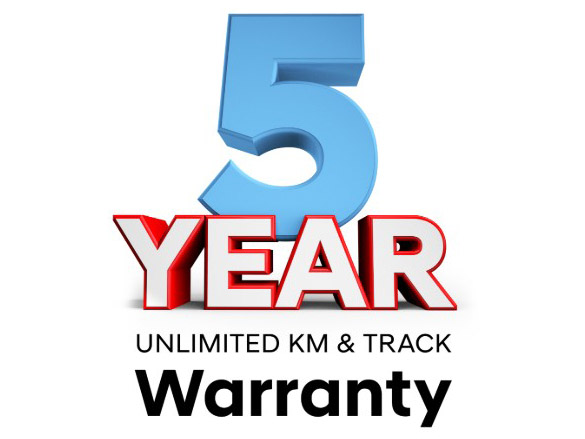Track warranty.<sup>[H1]</sup>