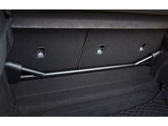 Rear stiffness bar.