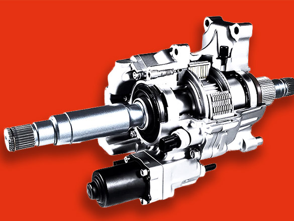 Electronic-mechanical Limited Slip Differential (E-LSD).