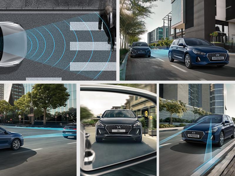 Hyundai SmartSense™ advanced safety.