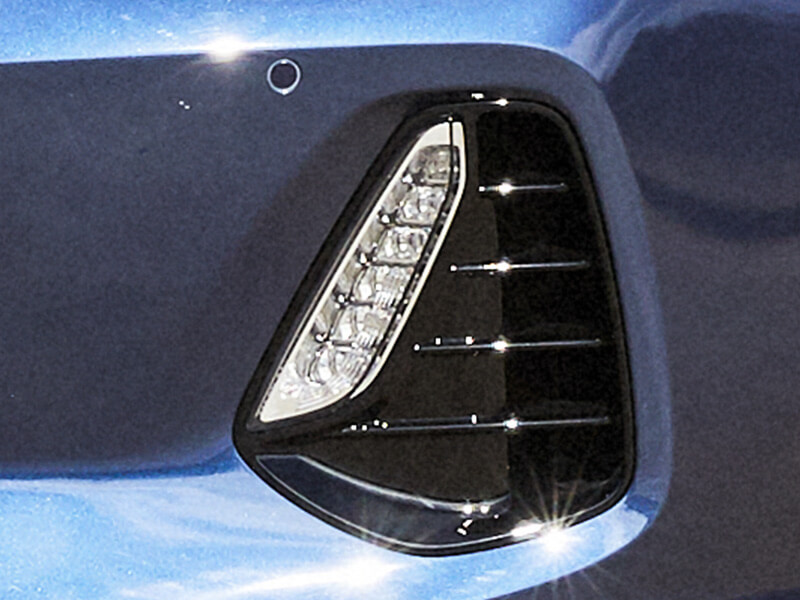 LED Daytime Running Lights (DRL).