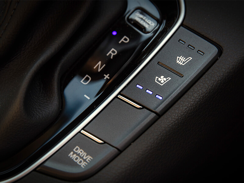 Heated & ventilated front seats.