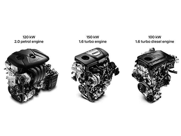 Range of dynamic engines.