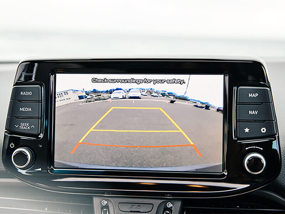 Rear View Camera & Park Assist System