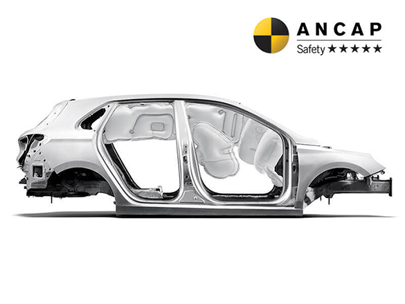 7 Airbags and intelligent chassis design.