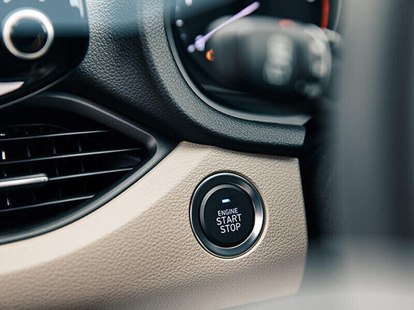 Smart Key with push button start.