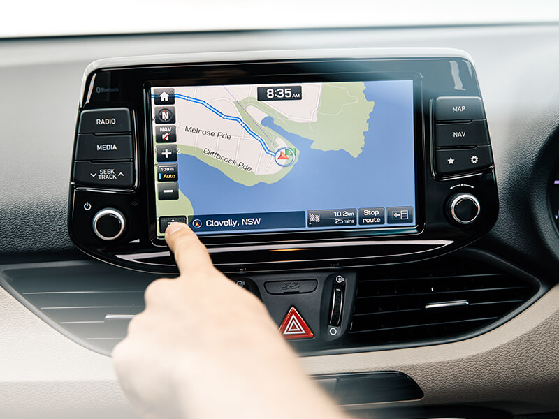 Satellite navigation system.