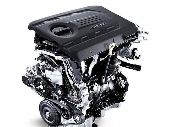 1.7 CRDi Diesel engine.
