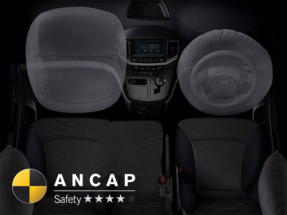 4 star ANCAP safety rating.