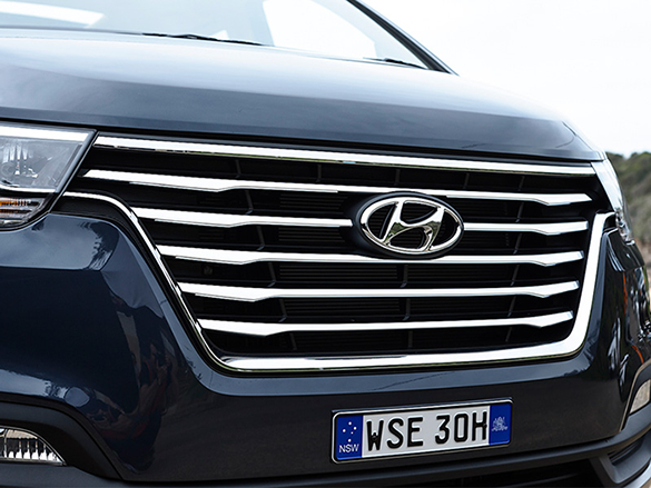 Front grille.