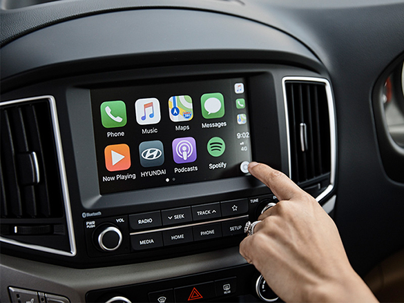 "7"" touchscreen audio system with Apple Carplay™ & Android™ Auto."