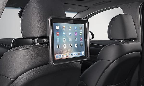 iPad<sup>©</sup> holder.<sup>A1</sup>