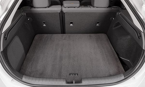 Carpet cargo mat.