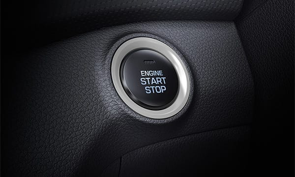 Push button start.