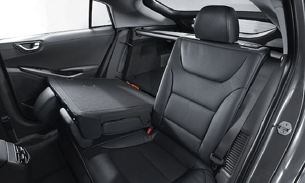 60:40 split folding rear seats.