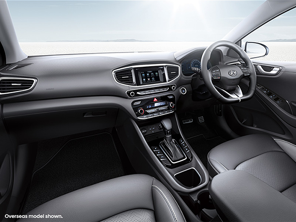 Elegant interior packed with innovative features.