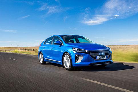Hyundai IONIQ Hybrid begins Australian fleet trials