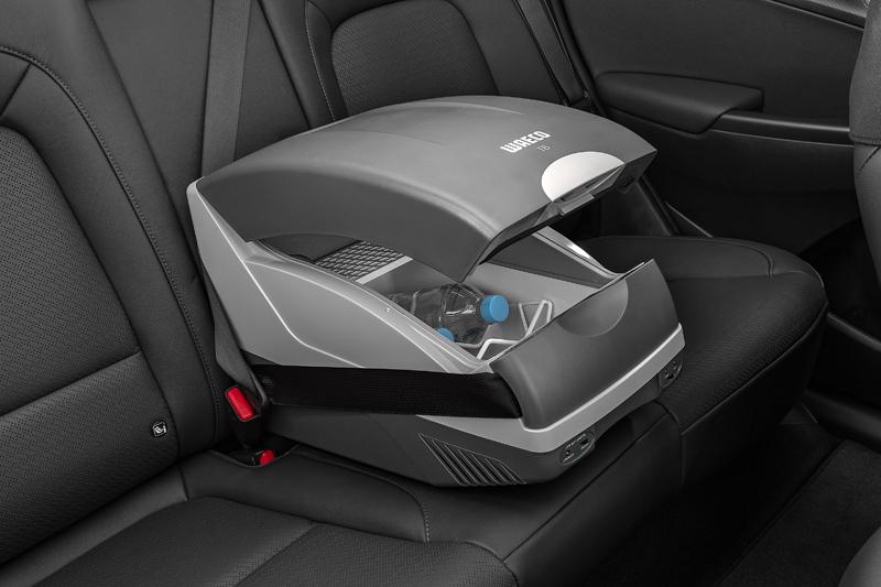 Portable cooler (12 volt, 15 litre).