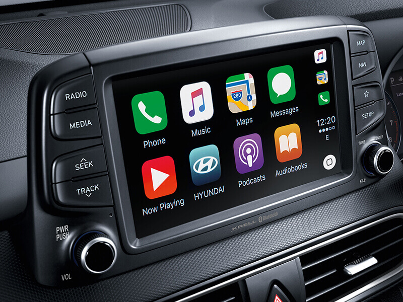 Apple CarPlay™ & Android™ Auto compatibility.