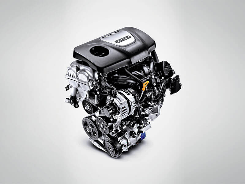 Impressive Performance – 1.6 T-GDi and 2.0 MPi engines.