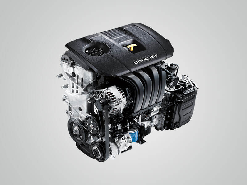 2.0 MPi petrol engine.