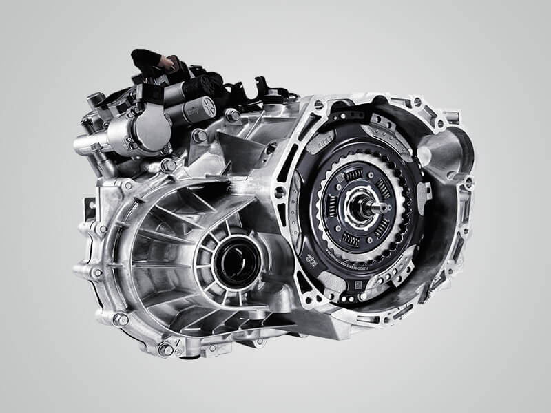 7 speed Dual Clutch Transmission (DCT).