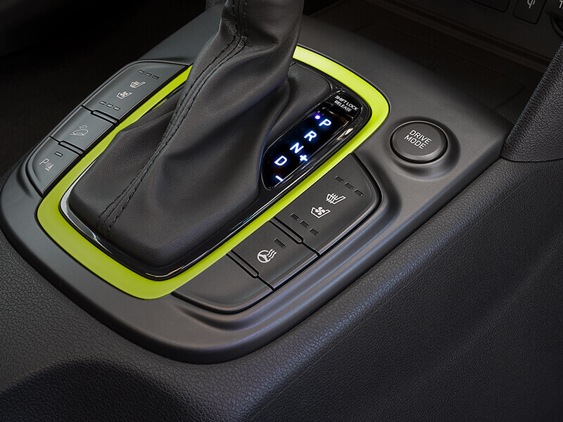 Drive modes - Comfort, Eco & Sport.