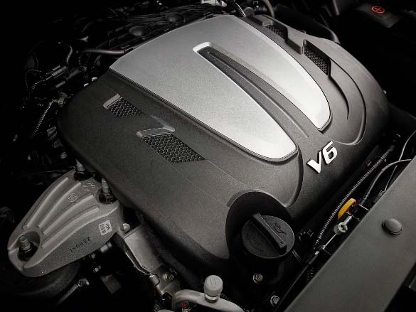 3.5L V6 petrol engine - available now.