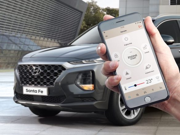 Hyundai Auto Link Premium.<sup>[H7]</sup>