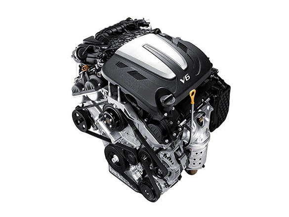 3.3 MPi V6 2WD petrol engine.