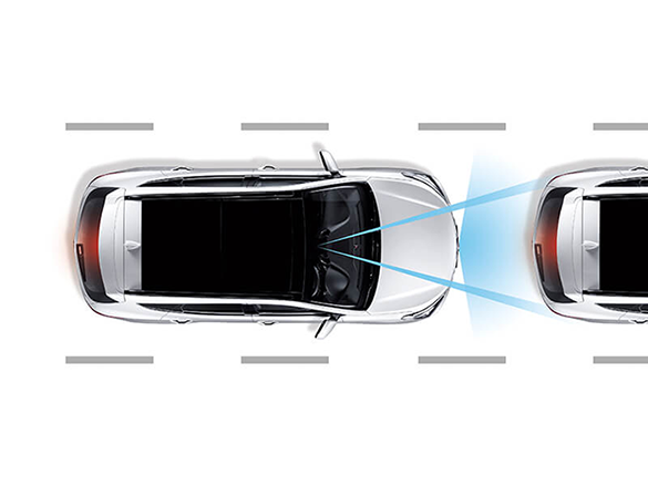 Autonomous emergency braking (AEB) and Forward Collision Warning (FCW).