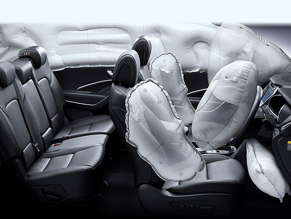 7 airbag system.