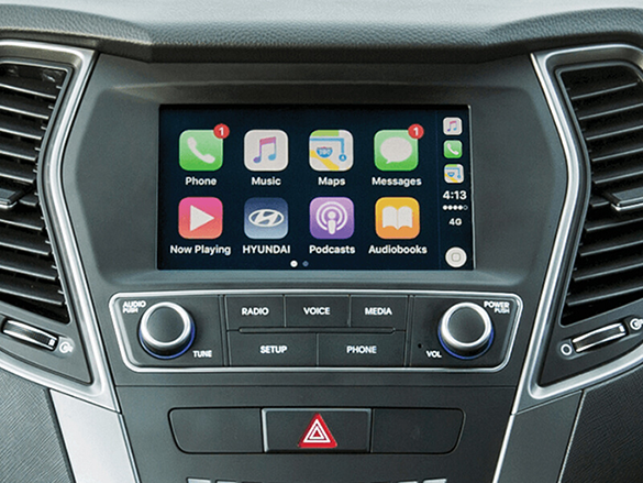 Apple CarPlay™ and Android™ Auto compatibility.