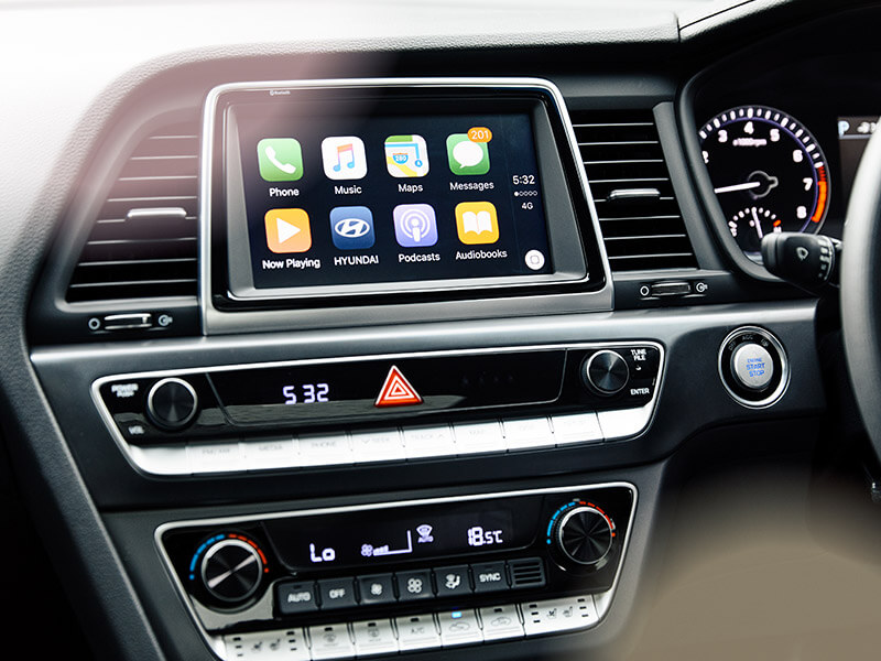 "8"" Sat Nav with Apple Carplay™ and Android™ Auto as standard."