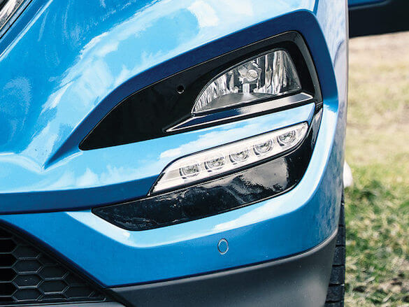 Daytime Running Lights (DRL).