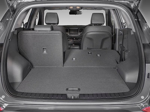 60/40 split folding rear seats.