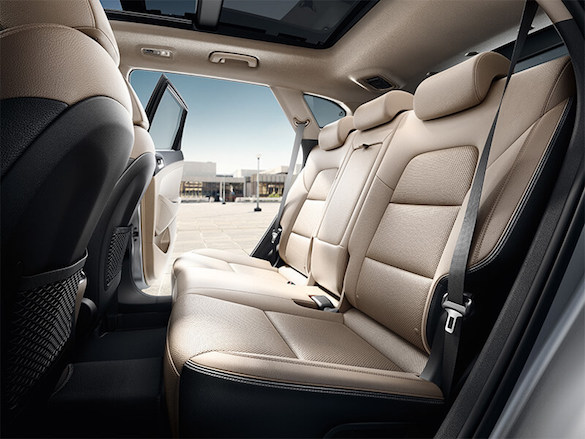 Premium leather interior.