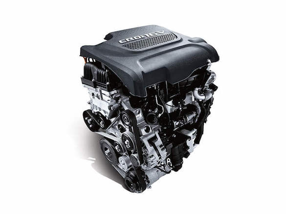 2.0 CRDi AWD diesel engine.