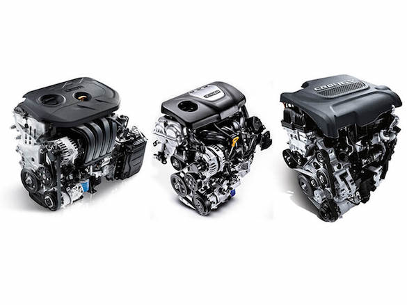 3 engines – 2.0 GDi 2WD petrol, 1.6 T-GDi AWD petrol and 2.0 CRDi AWD diesel engines.