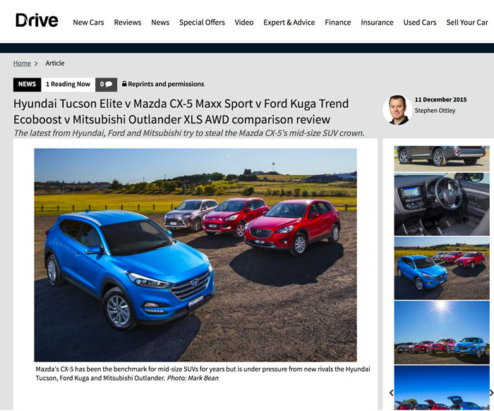 Stephen Ottley, Drive.com.au