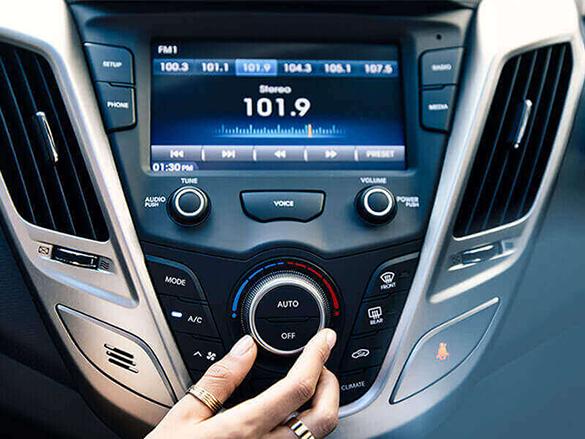 Auto climate control.