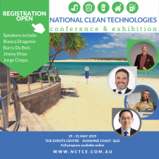 National Clean Technologies Conference & Exhibition @ The Events Centre Caloundra