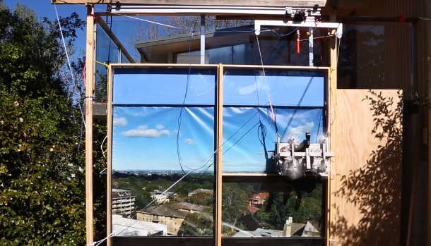 Aussie wins top prize for robotic window cleaner