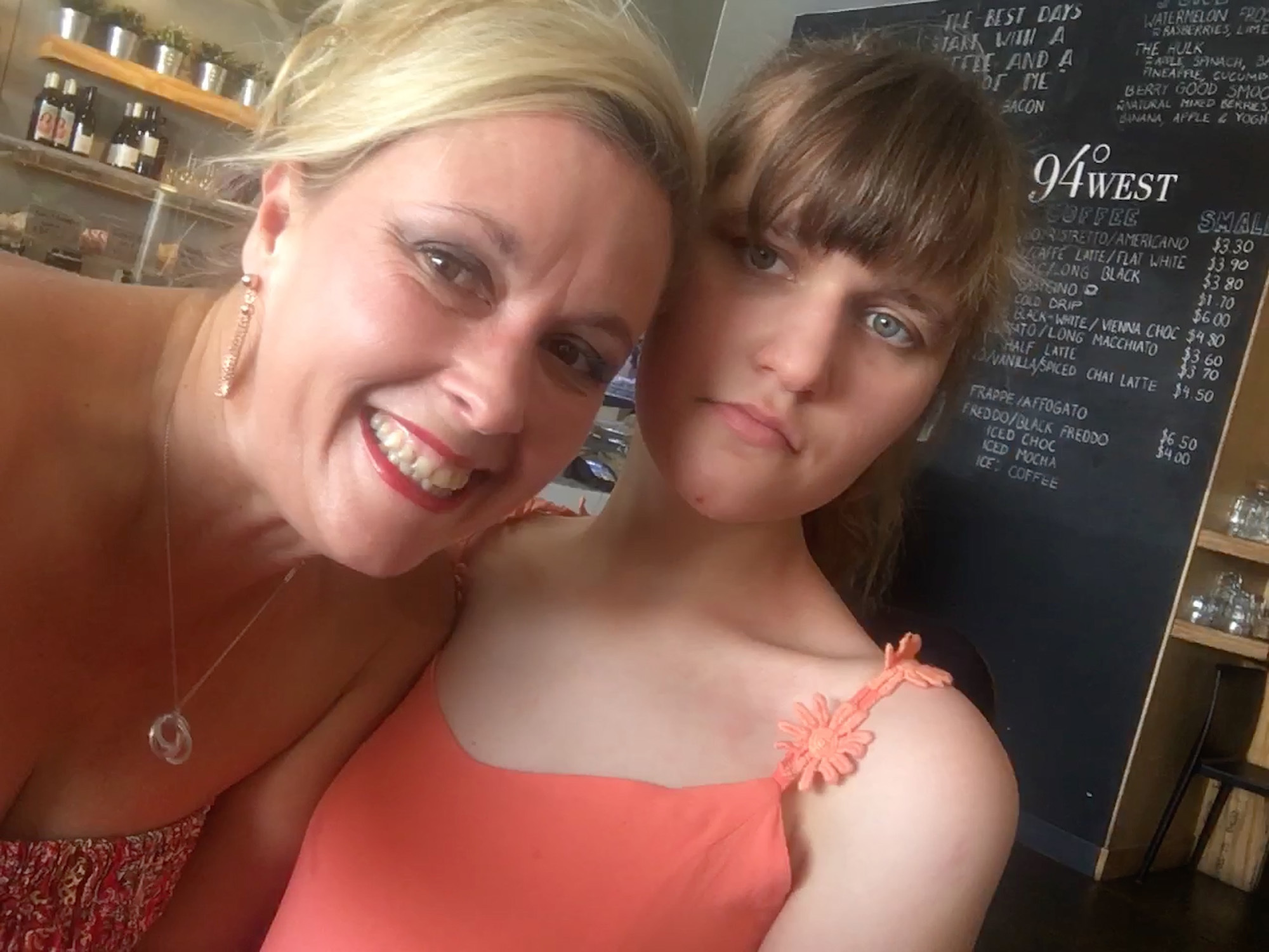 Caring for a teen with disability - Sabine and Monice