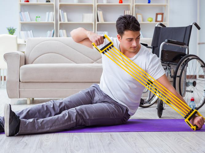 Staying fit and active with a disability